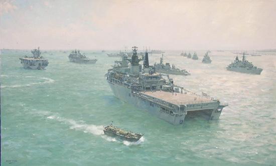Warship fleet